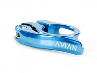 Avian Aviara Quick Release Seat Clamp / Blue / 25.4mm