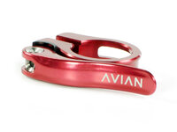 Avian Aviara Quick Release Seat Clamp / Red / 25.4mm