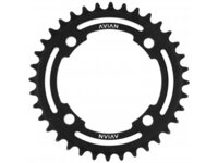 Avian 4 Bolt Chainring / Black / 37T
