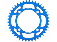 Avian 4 Bolt Chainring / Blue / 49T