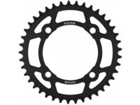 Avian 4 Bolt Chainring / Black / 50T