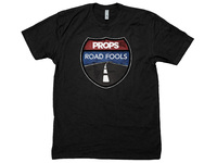 Props Road Fools Process T-Shirt / Black / XXL