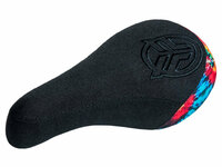 Federal Mid Stealth Logo Seat / Black With Tie Dye Back Panel And Thicker Black Embroidery