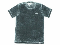Federal Freehand T-Shirt / Black Acid Wash / S